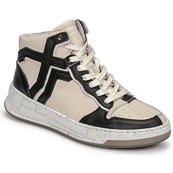 Scarpe Donna Sneakers alte Bronx OLD COSMO Bianco / Nero