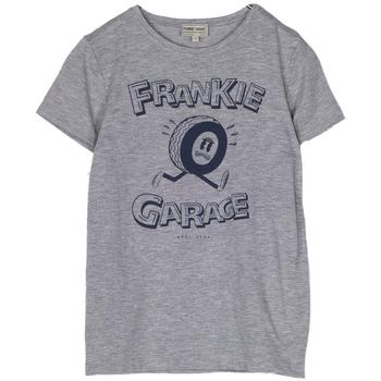 Abbigliamento Bambino T-shirt maniche corte Frankie Garage T-SHIRT GRAPHIC RAGAZZO grigio (GRIGIO)