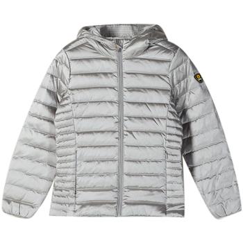 Abbigliamento Bambino Piumini Ciesse Piumini GIUBBOTTO SATEN DA RAGAZZA grigio (9409XP SILVER)