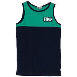 Abbigliamento Bambino Top / T-shirt senza maniche Frankie Garage CANOTTA BICOLOR 80 RAGAZZO blu (BLU)