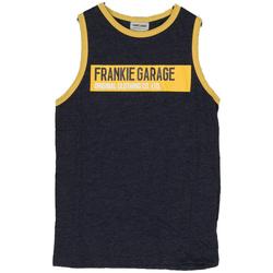 Abbigliamento Bambino Top / T-shirt senza maniche Frankie Garage CANOTTA LOGO ORIGINAL RAGAZZO blu (BLU)