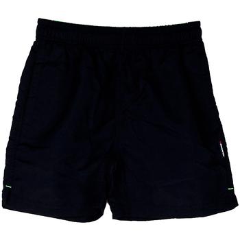 Abbigliamento Bambino Costume / Bermuda da spiaggia Aquarapid COSTUME BOXER KYLENT18 RAGAZZO nero (C BLK)