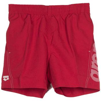 Abbigliamento Bambino Costume / Bermuda da spiaggia Arena SHORT BEACH LOGO RAGAZZO rosso (401RED)