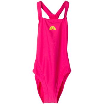 Abbigliamento Bambina Costume intero Aquarapid COSTUME AMACHIJ RAGAZZA rosa (FB FUXIA)