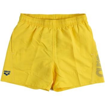 Abbigliamento Bambino Costume / Bermuda da spiaggia Arena SHORT BEACH LOGO RAGAZZO giallo (381YELLOW)
