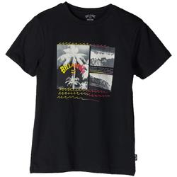 Abbigliamento Bambino T-shirt maniche corte Billabong T-SHIRT CRASH RAGAZZO nero (19BLK)