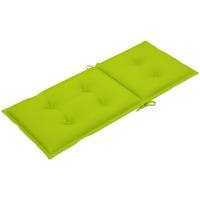 Casa Coprisedia VidaXL Cuscino per sedia da giardino 120 x 50 x 7 cm Verde