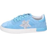 Scarpe Bambina Sneakers basse Holalà BH09 Blu
