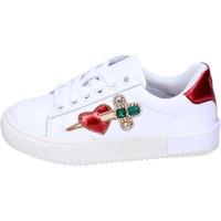Scarpe Bambina Sneakers basse Holalà BH12 Bianco
