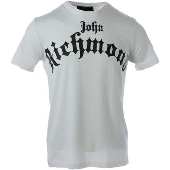 Abbigliamento Uomo T-shirt maniche corte John Richmond HMA20102TS Bianco