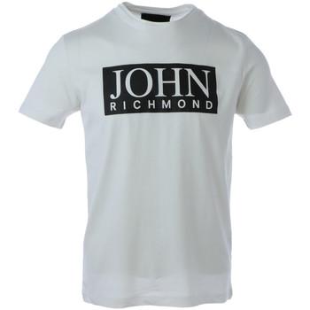 Abbigliamento Uomo T-shirt maniche corte John Richmond HMA20100TS Bianco