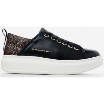 Scarpe Donna Sneakers basse Alexander Smith WEMBLEY nero-rame