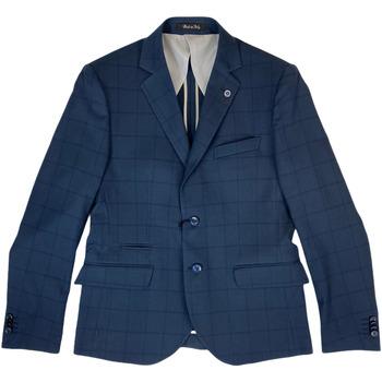 Abbigliamento Uomo Giacche da completo Langella ATRMPN-27021 Blu