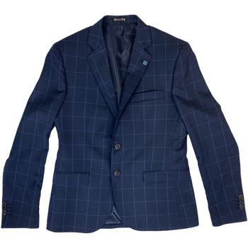 Abbigliamento Uomo Giacche da completo Langella ATRMPN-27025 Blu