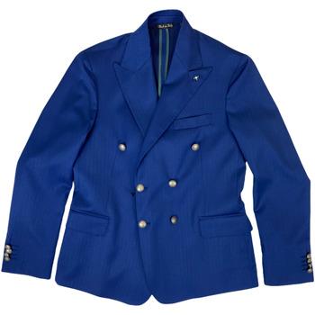 Abbigliamento Uomo Giacche da completo Langella ATRMPN-27029 Blu