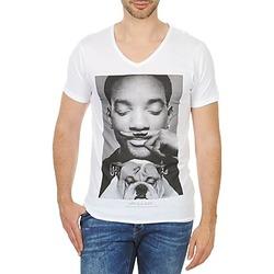 Abbigliamento Uomo T-shirt maniche corte Eleven Paris WOLY M Bianco