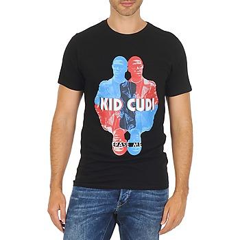 Abbigliamento Uomo T-shirt maniche corte Eleven Paris KIDC M Nero