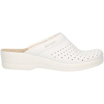 Scarpe Donna Zoccoli Fly-Flot - Pantofola bianco 63028BE BIANCO