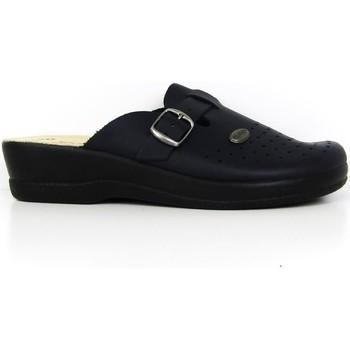 Scarpe Donna Zoccoli Fly-Flot - Pantofola blu 63465BE BLU