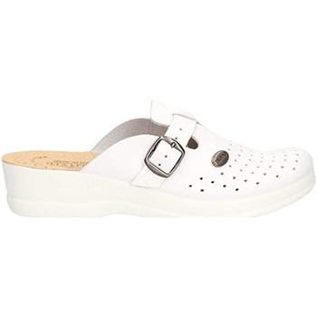 Scarpe Donna Zoccoli Fly-Flot - Pantofola bianco 63465BE BIANCO
