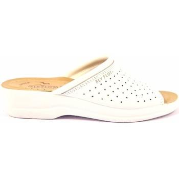 Scarpe Donna Ciabatte Fly-Flot - Pantofola bianco 63034BE BIANCO