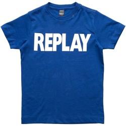 Abbigliamento Bambino T-shirt maniche corte Replay - T-shirt azzurro SB7308.010.792 AZZURRO