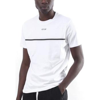 Abbigliamento Uomo T-shirt maniche corte Ice Play - T-shirt bianco F017 P400 1101 BIANCO