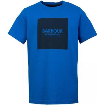 Abbigliamento Uomo T-shirt maniche corte Barbour - T-shirt blu MTS0540-BL54 BLU