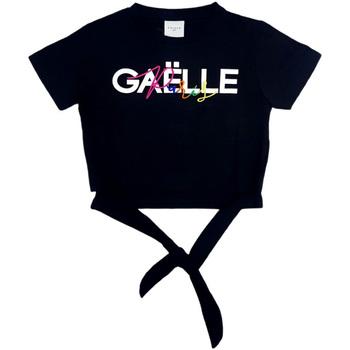 Abbigliamento Bambina Top / Blusa GaËlle Paris - T-shirt nero 2746M0341 NERO