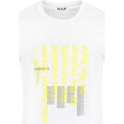 Abbigliamento Uomo T-shirt maniche corte Ice Play - T-shirt bianco F085 P400 1101 BIANCO