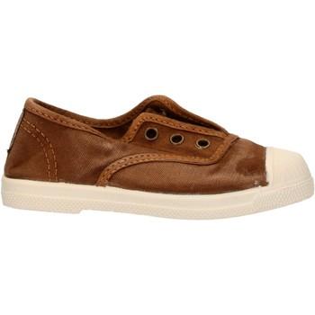 Scarpe Bambino Sneakers basse Natural World - Scarpa elast marrone 470E-686 MARRONE