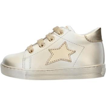 Scarpe Bambino Sneakers basse Falcotto - Polacchino bianco SASHA-1N03 BIANCO-ARGENTO