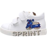Scarpe Bambino Sneakers basse Falcotto - Polacchino bianco AVISPA VL-0N01 BIANCO