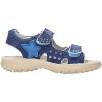 Scarpe Bambino Scarpe acquatiche Naturino - Sandalo blu DOCK-0C06 BLU