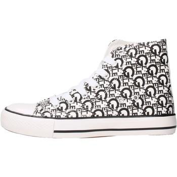 Scarpe Unisex bambino Sneakers alte GaËlle Paris - Sneaker bianco G-981 BIANCO