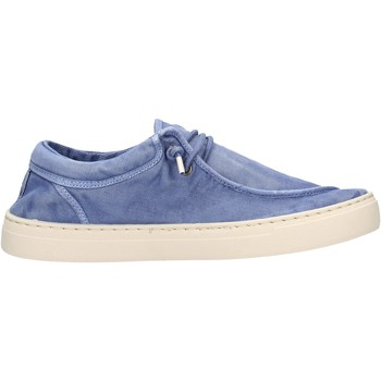Scarpe Uomo Mocassini Natural World - Sneaker celeste 6605E-690 CELESTE