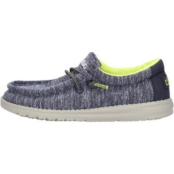 Scarpe Bambino Sneakers Hey Dude - Sneaker blu WALLY YOUTH 2556 GRIGIO