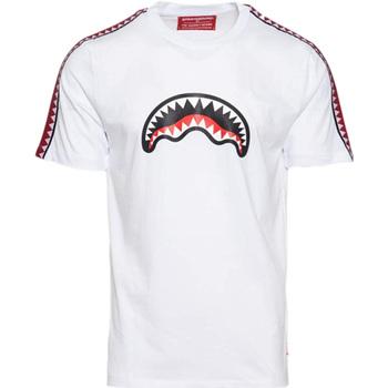 Abbigliamento Bambino T-shirt maniche corte Sprayground - T-shirt bianco 20SPY374 BIANCO