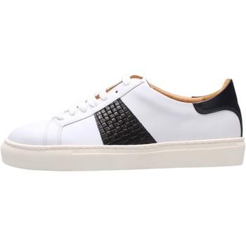 Scarpe Uomo Sneakers basse Soldini - Sneaker bianco/blu 22309-3-VF2 BIANCO