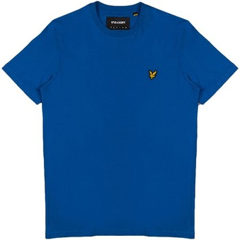 Abbigliamento Uomo T-shirt maniche corte Lyle E Scott - T-shirt azzurro TS400V-J43 AZZURRO