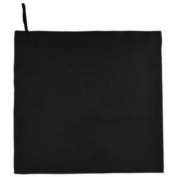 Casa Asciugamano e guanto esfoliante Sols ATOLL 100 Negro Negro