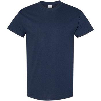 Abbigliamento Uomo T-shirt maniche corte Gildan 5000 Blu navy