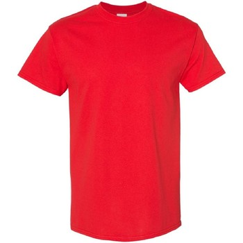 Abbigliamento Uomo T-shirt maniche corte Gildan 5000 Rosso