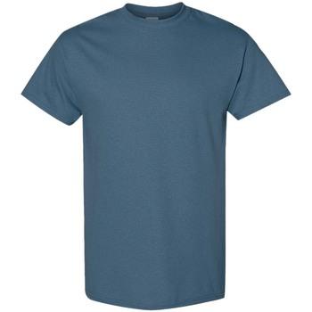 Abbigliamento Uomo T-shirt maniche corte Gildan 5000 Blu indigo