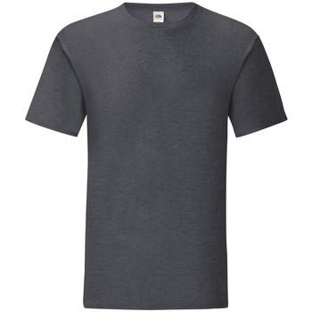 Abbigliamento Uomo T-shirt maniche corte Fruit Of The Loom 61430 Grigio scuro screziato