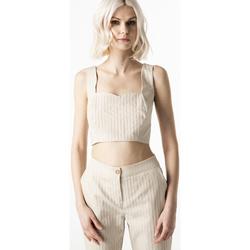 Abbigliamento Donna Top / Blusa Ak F021XBAROTELLO BEIGE-UNICA - C