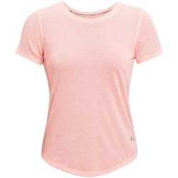 Abbigliamento Donna T-shirt maniche corte Under Armour Streaker Run Short Sleeve Rose