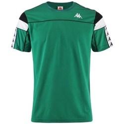 Abbigliamento Uomo T-shirt maniche corte Kappa Banda Arar Verde