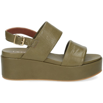 Scarpe Donna Sandali Il Laccio sandalo GL9 pelle verde VERDE