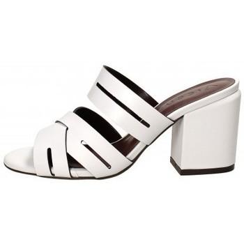 Scarpe Donna Ciabatte Vicenza Sandalo in pelle Bianco Bianco